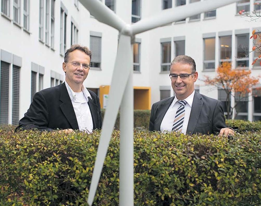 Bodo Wilkens and Peter Szabo from Energiekontor AG